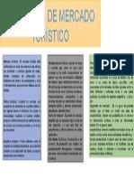 CONCEPTO DE MERCADO TURÍSTICO