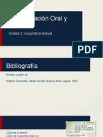 CEO- Unidad 2 - Lingüística Textual