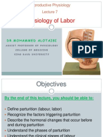 Lecture 7- Physiology of Labor