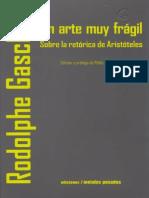 Un arte muy frágil. La retórica de Aristóteles.pdf