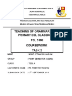 Lesson Plan Grammar
