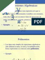 Exp Algebraicas Polinomios