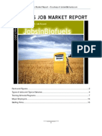 Biofuels Job Market Report