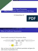 9-2coefficient Quantization Fir