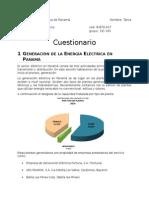 Cuestionario Electricidad Panamá