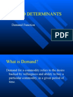 Demand,Determinents