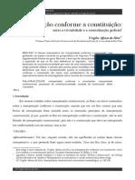 SILVA, Virgílio Afonso Da. Interpretacao_conforme a Constituição