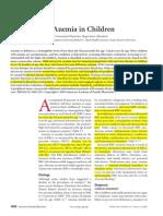 Diagnosis Anemia Dan Pemberian Preparat Besi