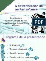 Sistema de Verificación de Componentes Software