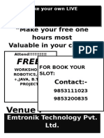 Make Your Free Two Hours Most1