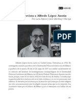 Alfredo Lopez Austin Entrevista