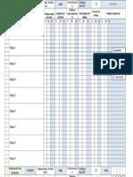 Registro Ficha de Evaluacion de Grupo Clase