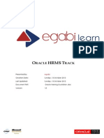 Oracle HR Training Quotation