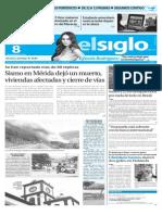 Edición Impresa El Siglo 08-11-15