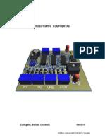 Manual de Robot Con Compuertas Logicas