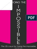Doing the Impossible by Patrick Bet David