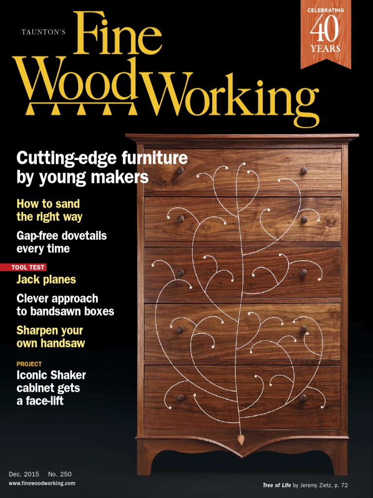 Marvelous Fine Woodworking December 2015.pdf | Adhesive | Woodworking