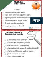autoinstrucciones-disgrafia