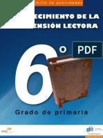 Español 6 Grado Primaria Comprensión Lectora