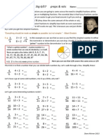 simplifying fractions stg 6 and 7