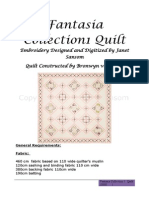 JS084_Fantasia Collection 1 Quilt - InSTRUCTIONS