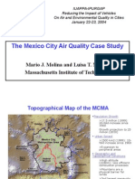 Molina y Molina the Mexico City Air Quality Case Study