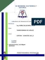 Laplace Labo 3