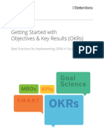 Getting Started With Objectives & Key Results (OKRs)