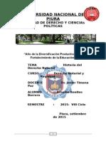 Historial Del Derecho Notarial
