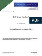 CHC Exam Handbook