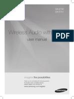 Samsung DA-E750 Manual
