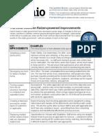 9 Key Kaizen Improvements