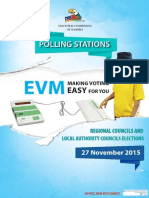 Polling Stations Namibian Regional Council & Local Authority Elections 2015