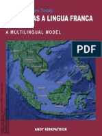 English as a Lingua Franca in ASEAN a Multilingual Model 1 to 60