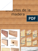 Defectos de La Madera