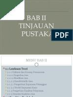 BAB II Skripsi Manjemen Pemasaran