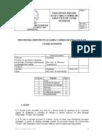 Procedura Evaluare Studenti - Forma Finala 06.02.2014