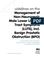 EAU Guidelines Non Neurogenic Male LUTS Guidelines 2015 v2