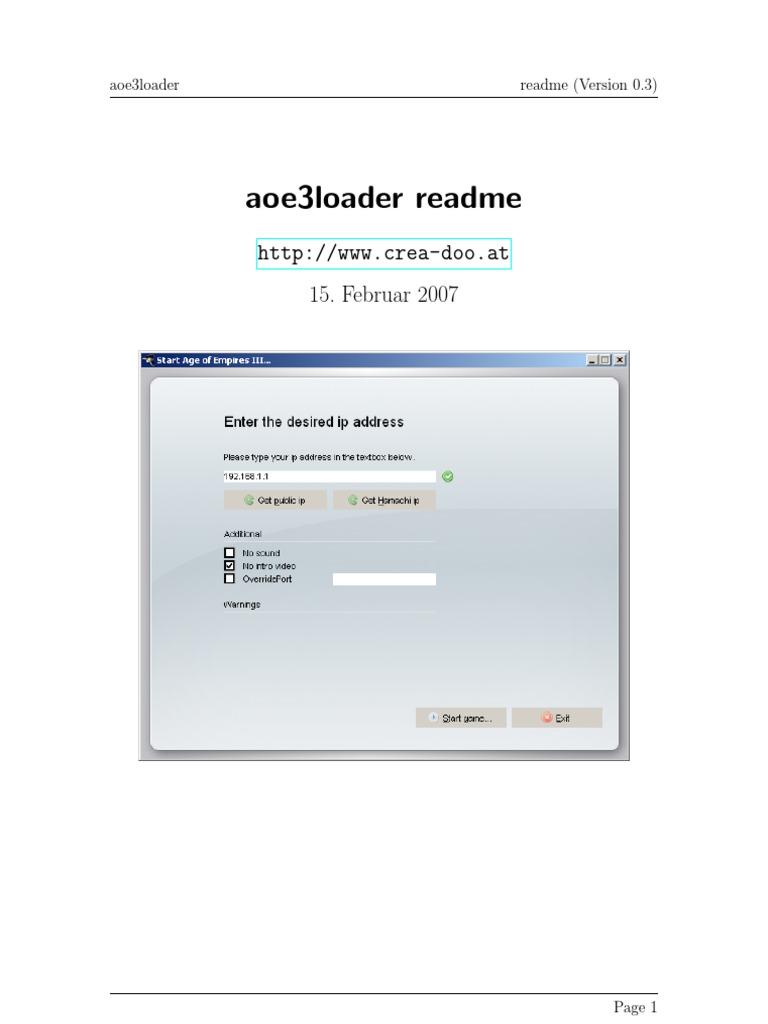 aoe3loader
