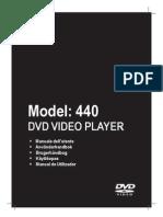 Dvd Magnavox Mdv440