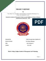 Final Project Report on Celebrity Endorsment