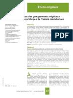 Dynamique Des Groupements Végétaux