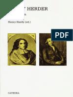 Berlin Isaiah - Vico Y Herder - Dos Estudios en La Historia de Las Ideas