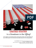 United States. Is a Slowdown in the Offing?