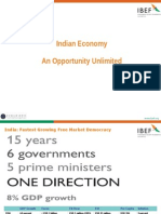 Indian Economy Opportunities 15April2008