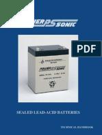 Power Sonic Sealed Lead Acid Manual
