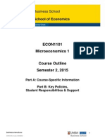 ECON1101 Macroeconomics 1 S22015