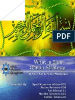Presentation Final Blue Ocean Strategy