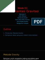 Instrumentasi Gravity