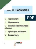 1.2 Units of Measurement